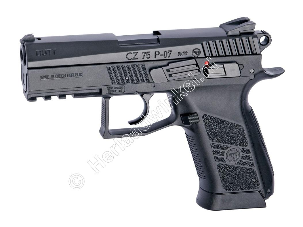 ASG CZ P-07 Duty Airsoft Pistol 6mm BB Co2