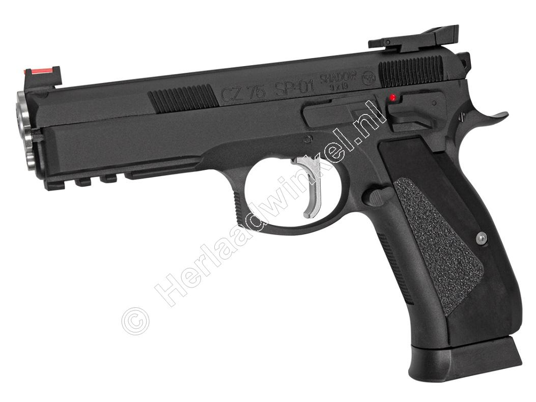 ASG CZ Shadow SP-01 Accu Airsoft Pistool 6mm BB Co2