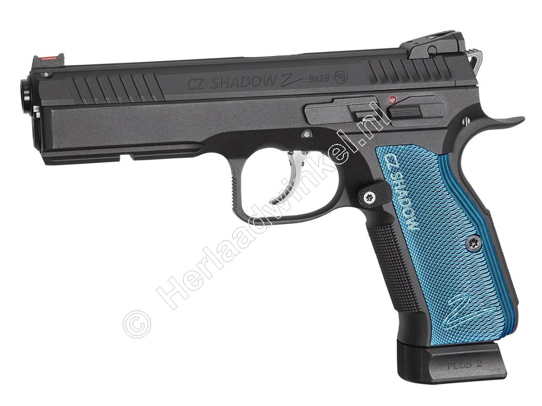 ASG CZ Shadow 2 Airsoft Pistool 6mm BB Co2