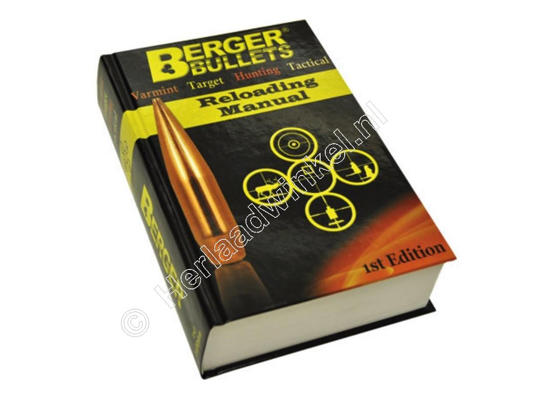 Berger RELOADING MANUAL edition 1