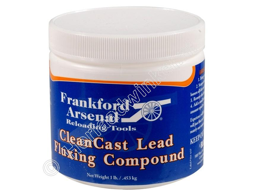 Frankford Arsenal CLEANCAST LEAD FLUXING COMPOUND, Lood Flux inhoud 453 gram