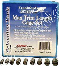 Frankford Arsenal MAX TRIM LENGTH GAGE SET
