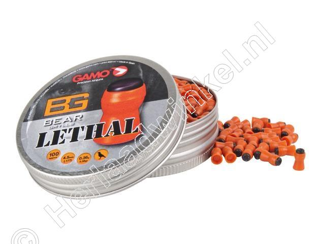 Bear Grylls Lethal 4.50mm Airgun Pellets tin of 100