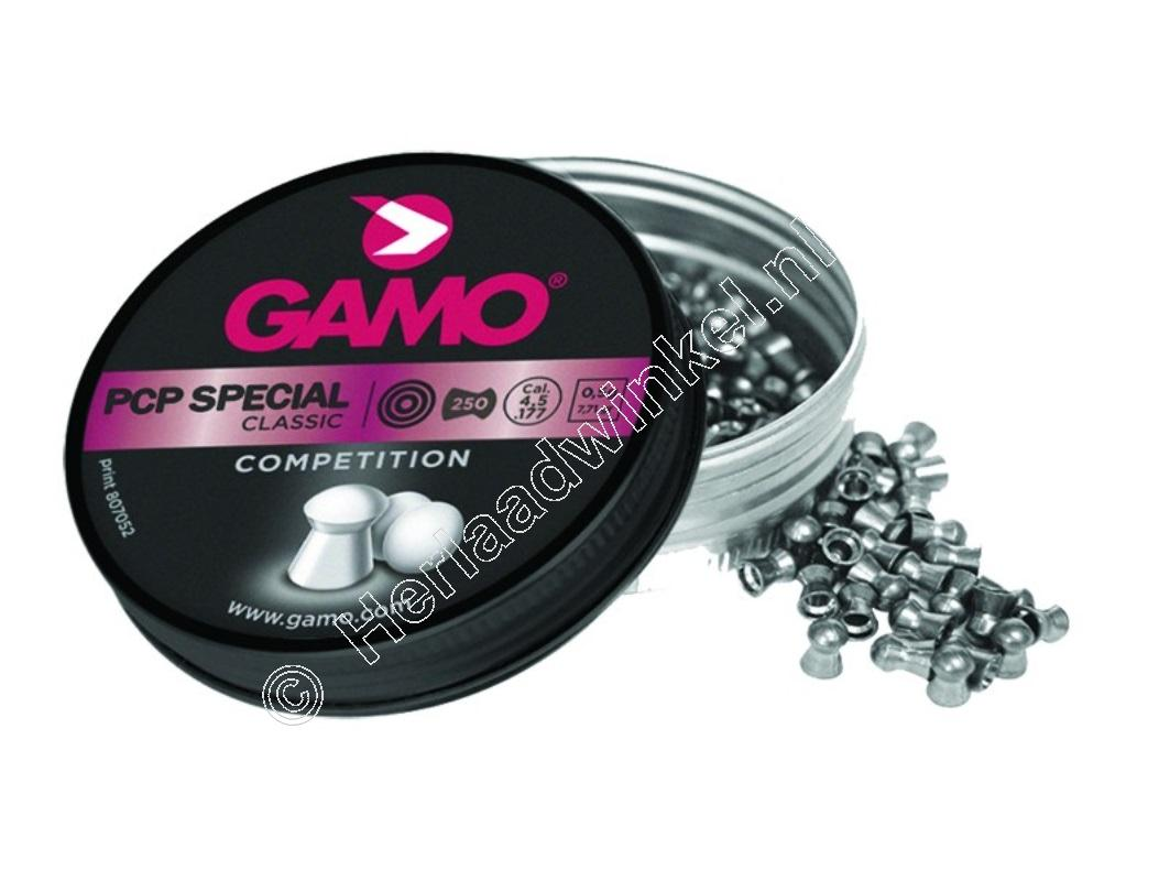 Gamo PCP Special Competition 5.50mm Airgun Pellets tin of 250