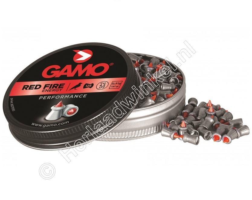Gamo Red Fire 4.50mm Airgun Pellets tin of 125