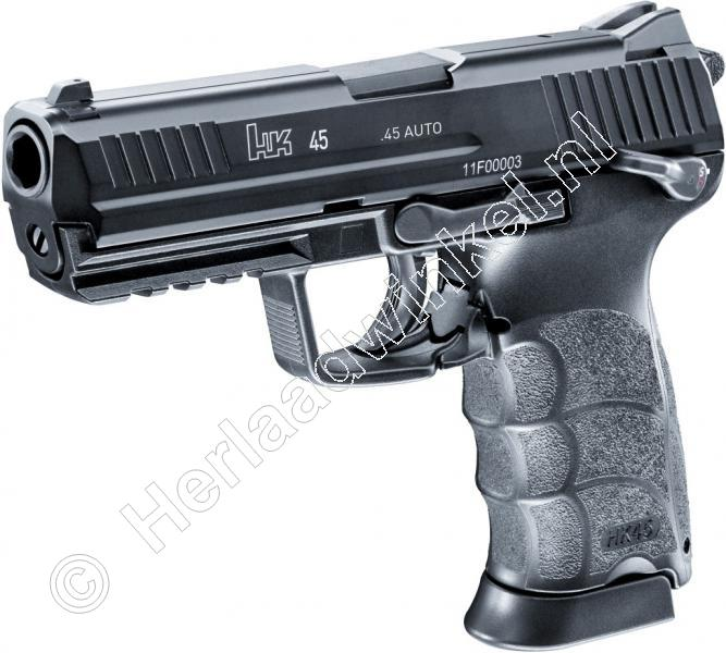 Heckler & Koch HK45 Airsoft Pistool 6mm BB GAS