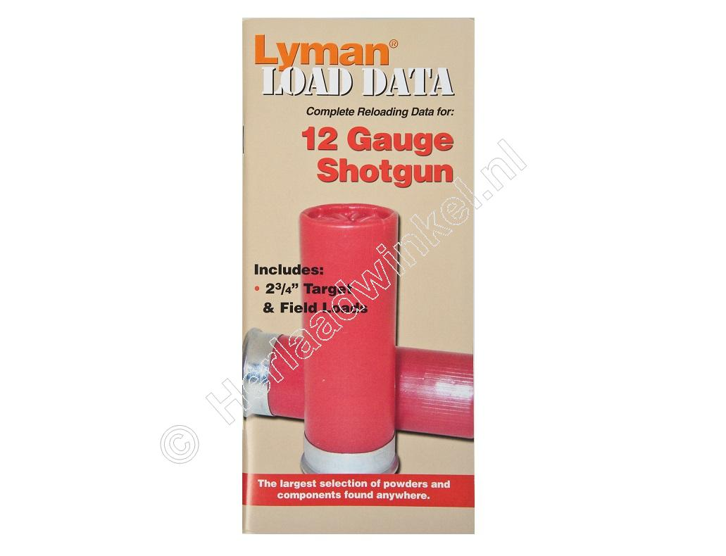 Lyman LOAD DATA BOOK 12 Gauge Shotgun
