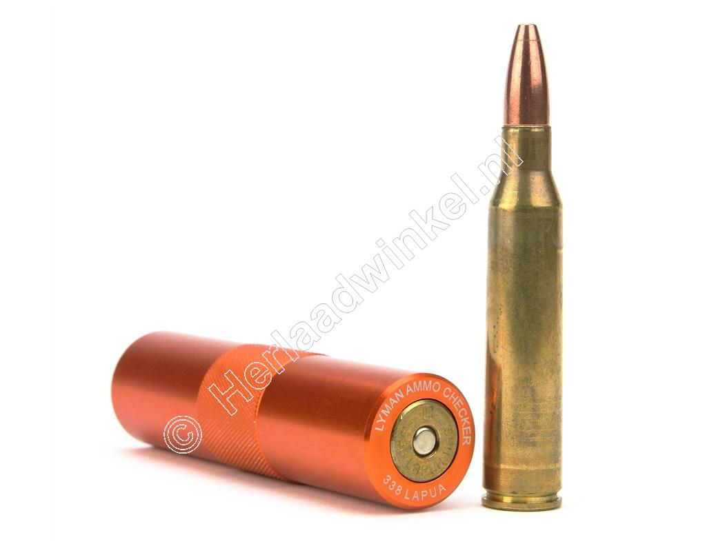 Lyman AMMO CHECKER Single-Caliber .338 Lapua Magnum