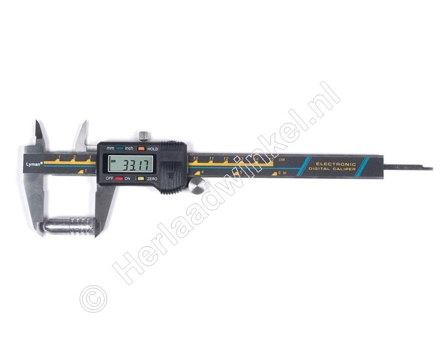 Lyman ELECTRONIC DIGITAL CALIPER Schuifmaat