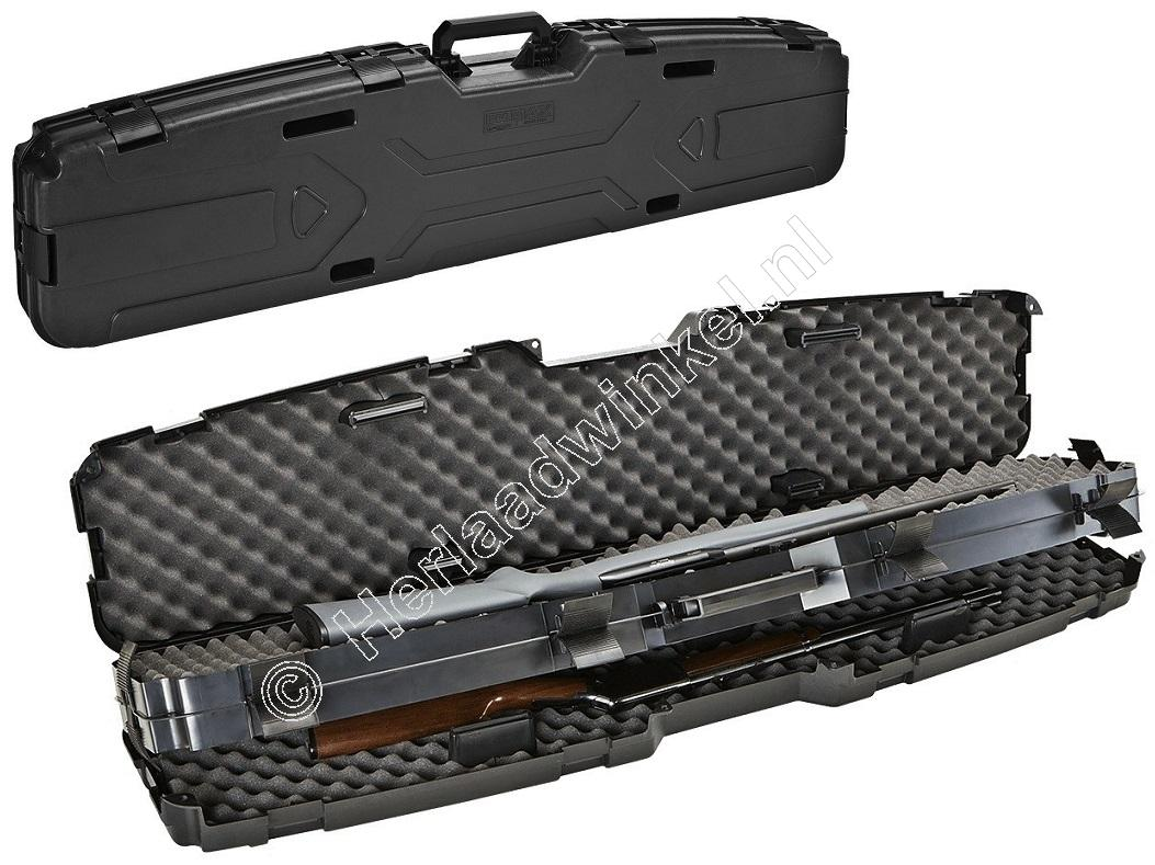 Plano PRO-MAX PILLORLOCK Side-By-Side Rifle Case Geweer Koffer 133 centimeter