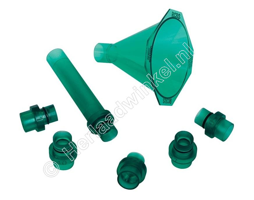 RCBS Quick Change Powder Funnel Kit, Kruit Trechter Set